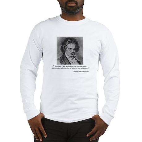 Beethoven Long Sleeve T-Shirt