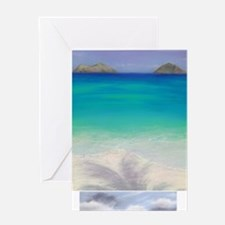 2 for 1 Sale - 11x14 Mokes / 8.8x2.9 Greeting Card