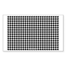 Houndstooth  White Decal