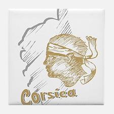 corsica3 Tile Coaster