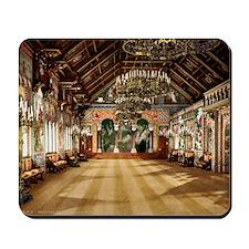 Neuschwanstein_singers_hall_00185u Mousepad