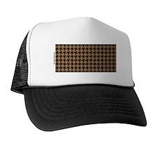 Houndstooth  Khaki Trucker Hat
