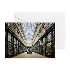 Rotterdam_-_Arcade_1900 Greeting Card