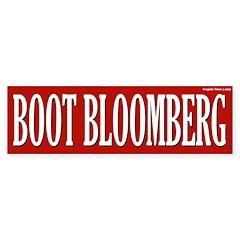 Boot Bloomberg Bumper Bumper Sticker