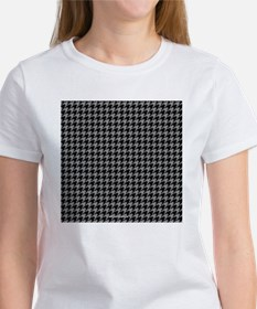 Houndstooth  Grey Tee