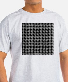 Houndstooth  Grey T-Shirt