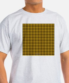 Houndstooth  Yellow T-Shirt