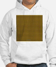 Houndstooth  Yellow Hoodie