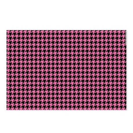 Houndstooth Postcards (Package of 8)