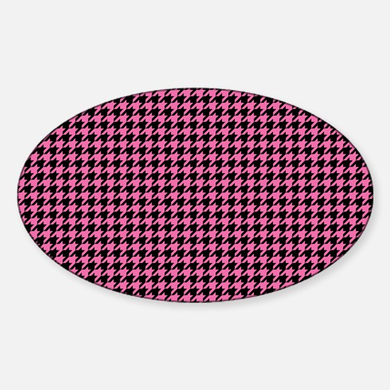 Houndstooth Sticker (Oval)