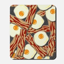 Bacon and Eggs Pattern Mousepad