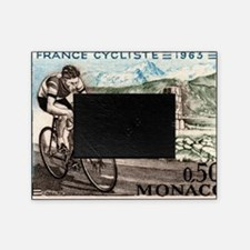 1963 Monaco Racing Cyclist Postage S Picture Frame