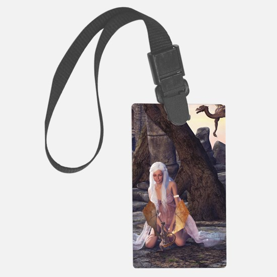 Dragon Lady Luggage Tag