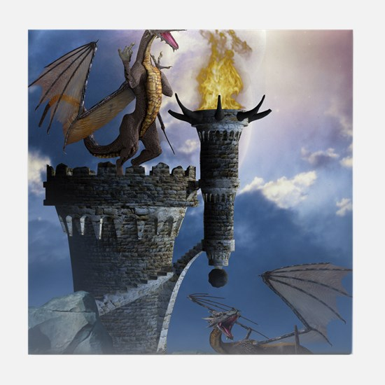 Dragon Land 2 Tile Coaster