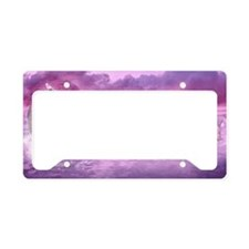 Dream Of Dolphins License Plate Holder