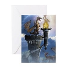 Dragon Land 2 Greeting Card
