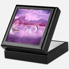 Dream Of Dolphins Keepsake Box