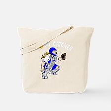 blue2, I love my catcher Tote Bag