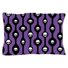 Mod Skull Drops Pillow Case