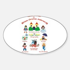 fairy tales Oval Decal