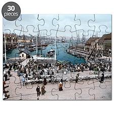 Fish_market,_Bergen,_Norway_(LOC) Puzzle