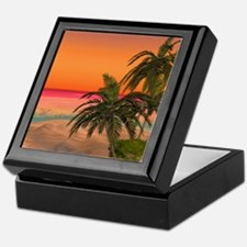 Dreamy Desert Island 2 Keepsake Box