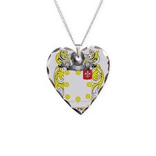 Davila 2 Coat of Arms Necklace