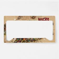 Inspire Action Hope License Plate Holder