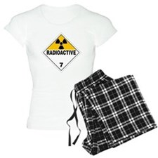 Radioactive Warning Sign Pajamas