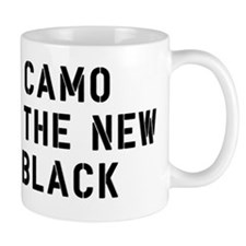 FIN-camCamo Is The New Blacko-new-black Small Mug