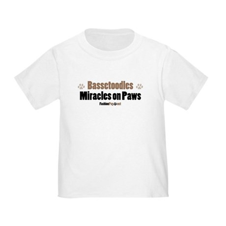 Bassetoodle dog Toddler T-Shirt