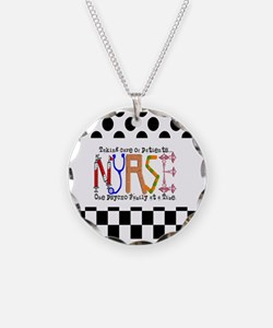 Nurse taking care PILLOW Necklace