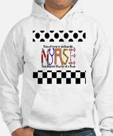 Nurse taking care PILLOW Hoodie
