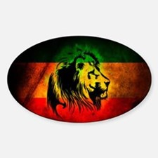 Lion of Judah Sticker (Oval)