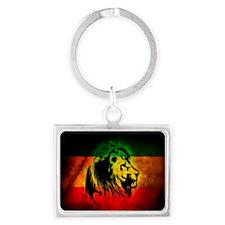 Lion of Judah Landscape Keychain