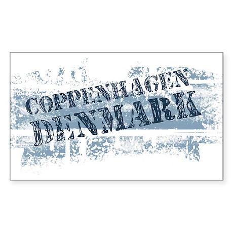 coppenhagen Danmark Rectangle Sticker