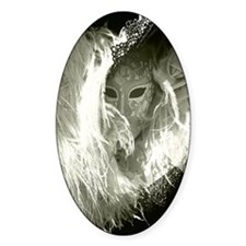 Venetian Mask Of Mystery Woman Decal