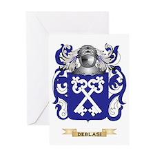 De Carli Coat of Arms Greeting Card