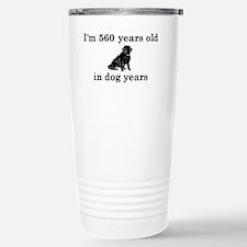 80 birthday dog years l Travel Mug