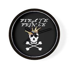 Pirate Prince Wall Clock
