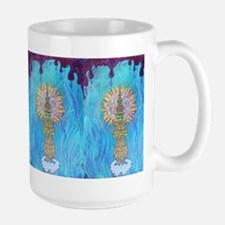 Rising Lotus Tibetan Monk Mugs