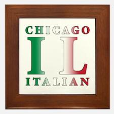 Chicago Italian Framed Tile