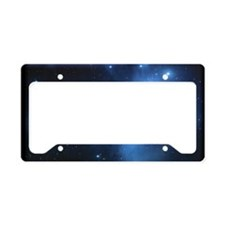 Sweet OM Pleiades poster License Plate Holder