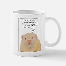 Albinos have more fun - Mug