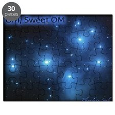 Sweet OM Pleiades poster (small) Puzzle