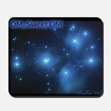 Sweet OM Pleiades poster (small) Mousepad