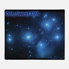 Sweet OM Pleiades poster (small) Throw Blanket