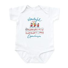 wonderful music Infant Bodysuit