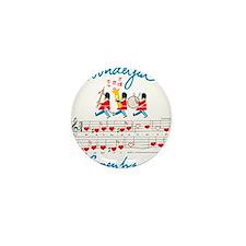 wonderful music Mini Button