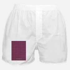 Houndstooth  Pink Boxer Shorts